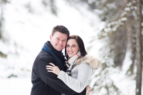 Calgary Winter Engagement Session Inspiration