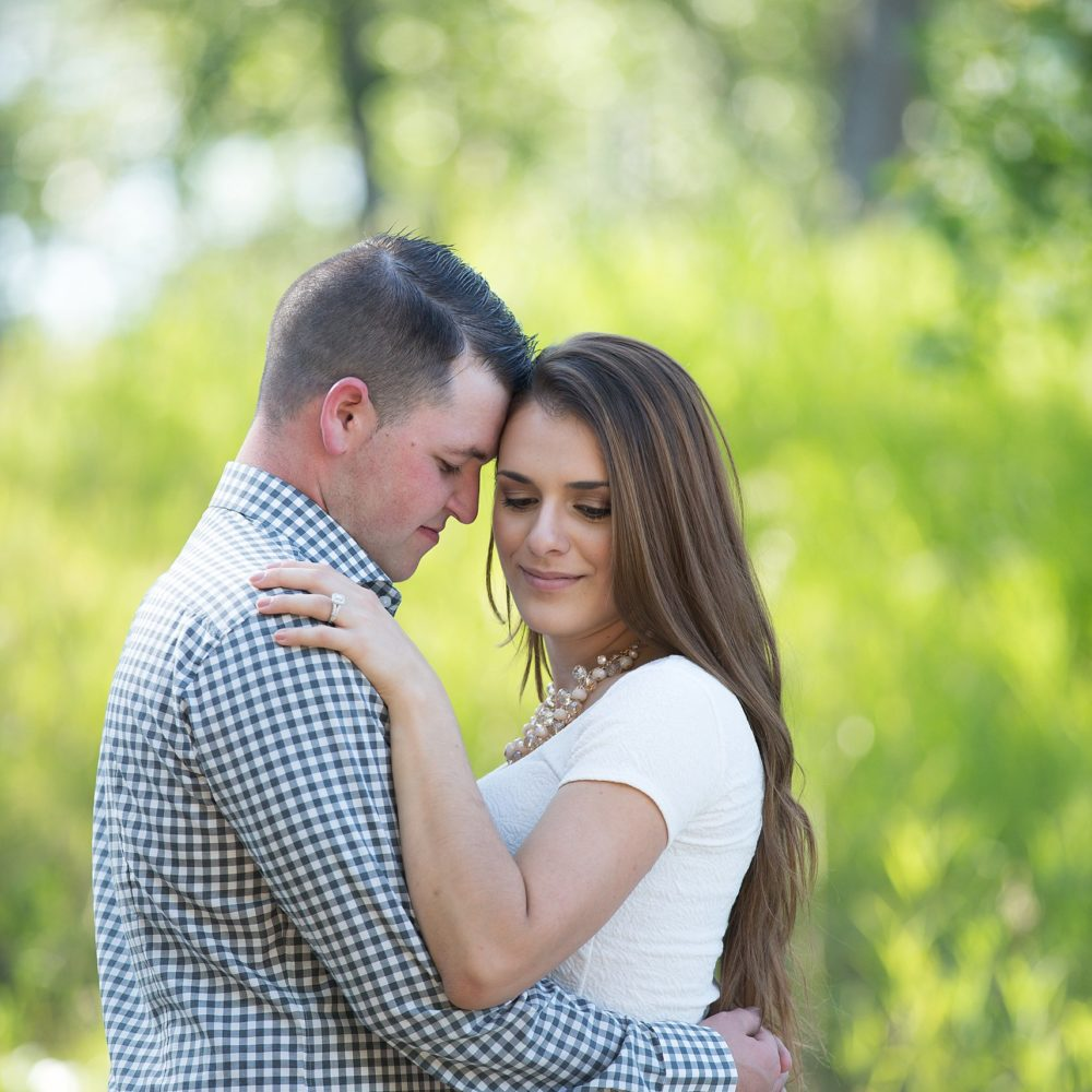 Kayla + Kyle's Romantic Summer Engagement Session