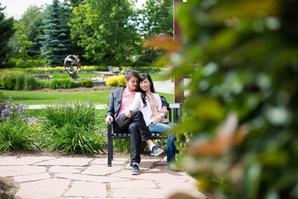 Jenny + Andrew's Calgary Zoo Engagement – Sneak Peek
