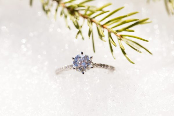 Sneak Peek – Calgary Winter Engagement Session