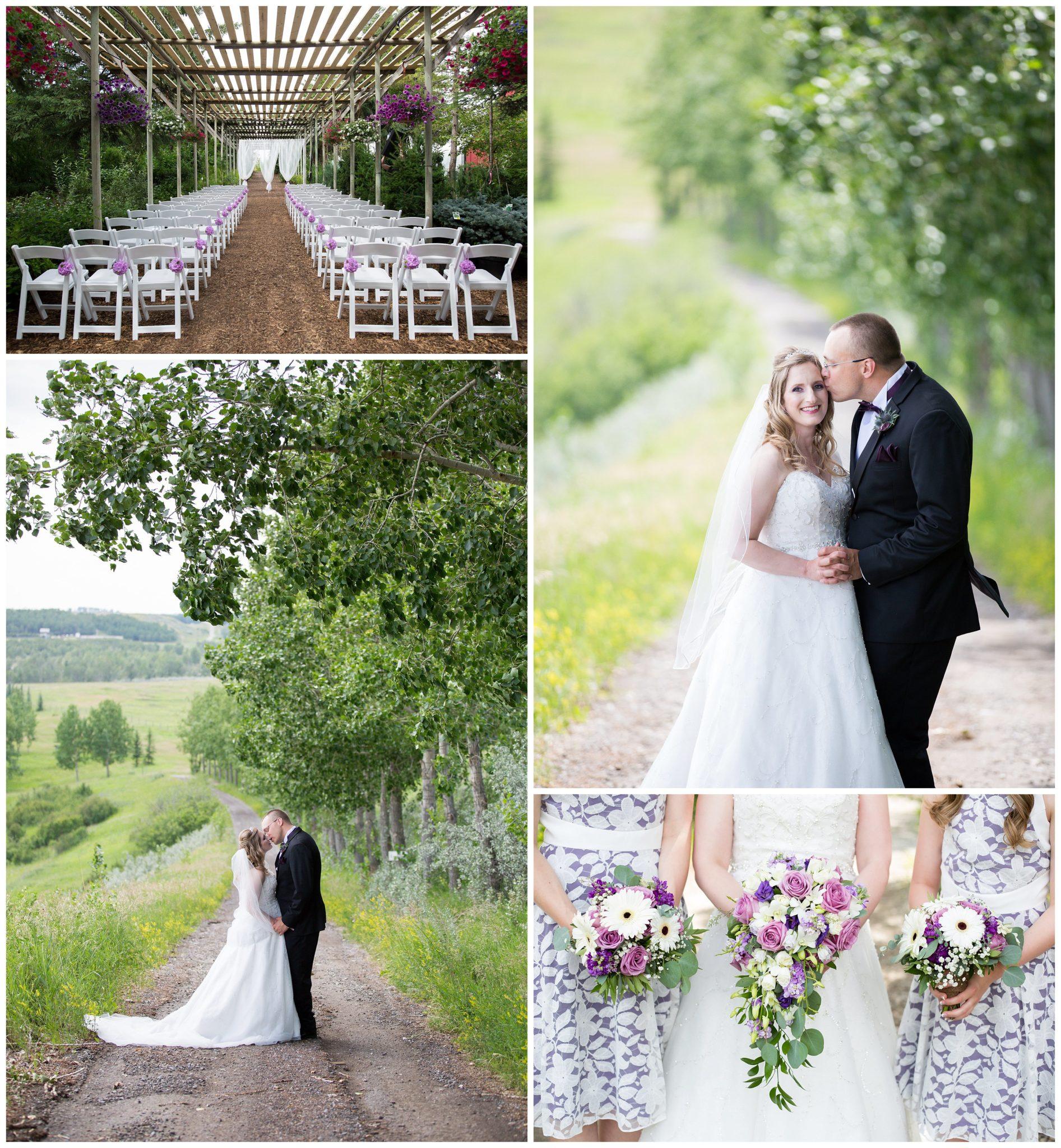 Ceremony Vs Reception Dress: A Saskatoon Farm Wedding
