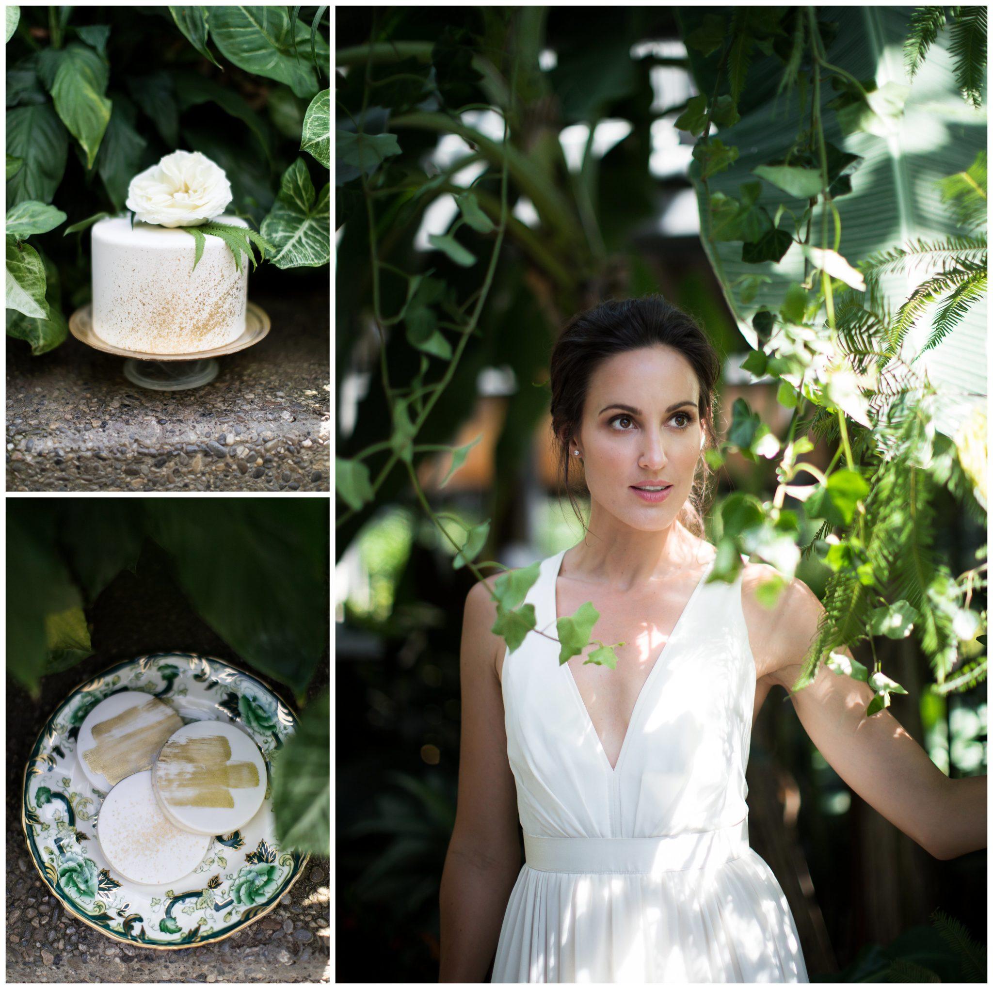 Wedding Gowns Calgary: Secret Garden Wedding Inspiration